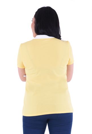 PROUD basic colorful polo yellow