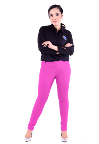 PROUD stretch pants pink