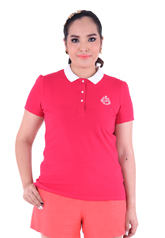 PROUD basic colorful polo pink