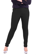 PROUD stretch pants black