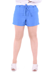 PROUD shorts with rope blue