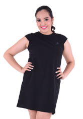 PROUD basic stretch dress black