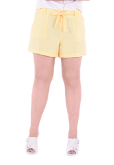 PROUD shorts with rope yellow