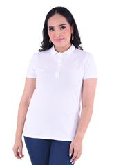 PROUD basic colorful polo white