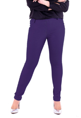 PROUD stretch pants purple